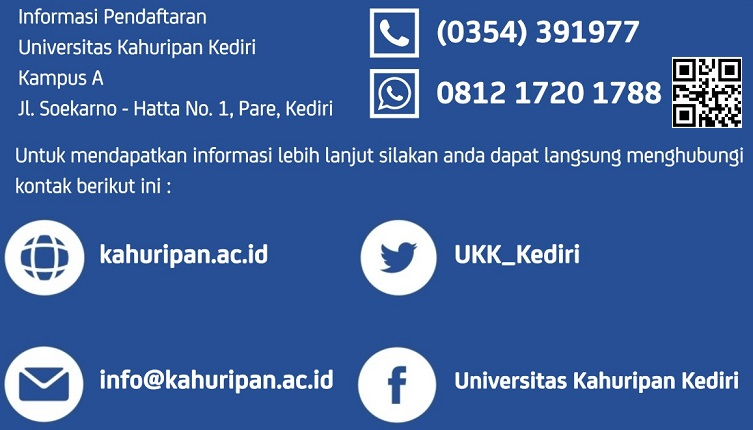 Informasi Pendaftaran 753 x 430 Universitas Kahuripan Kediri