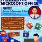 Workshop, Microsoft Office, Universitas Kahuripan Kediri, UKK